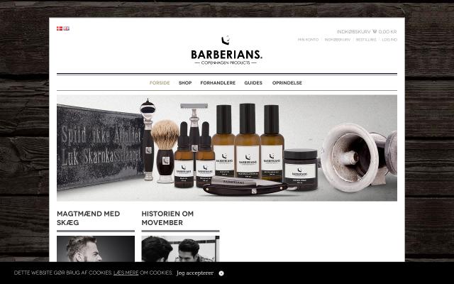 Barbergrej fra Barberians