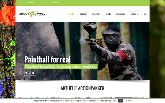 Paintball i Kongelunden