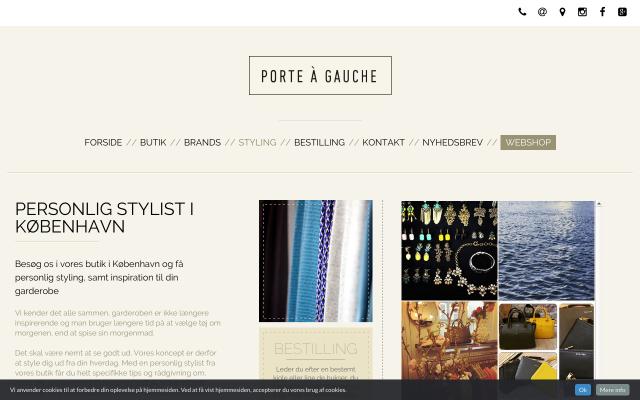 Porte A Gauche Styling