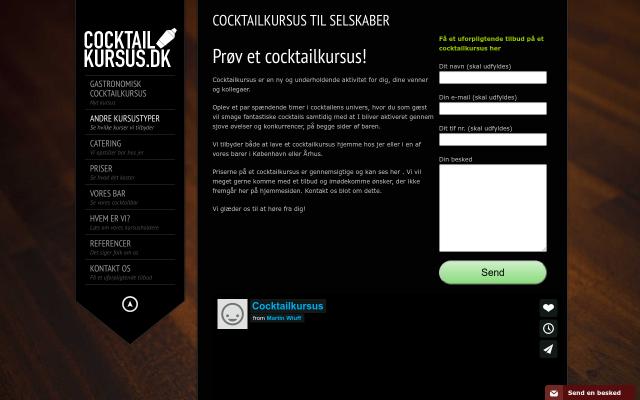 www.cocktailkursus.dk