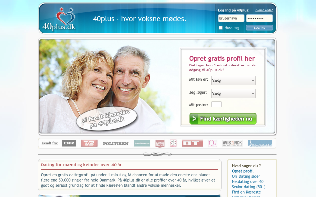 40 plus dating dk Faaborg-Midtfyn