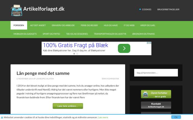 www.artikelforlaget.dk