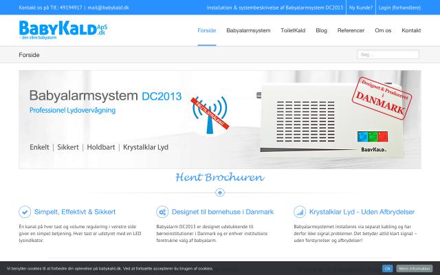 www.babykald.dk