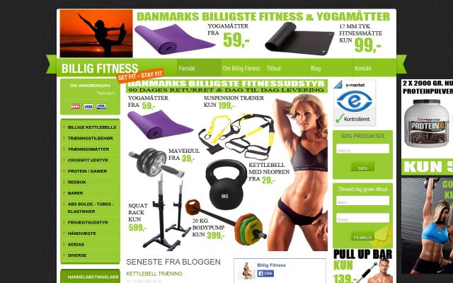 www.billig-fitness.dk