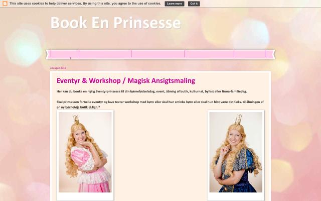 www.bookenprinsesse.dk