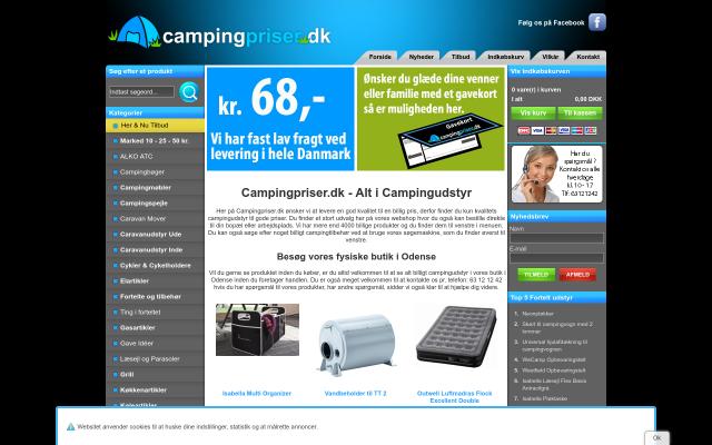 www.campingpriser.dk