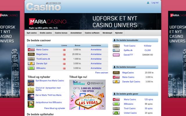 www.casinolistings.dk