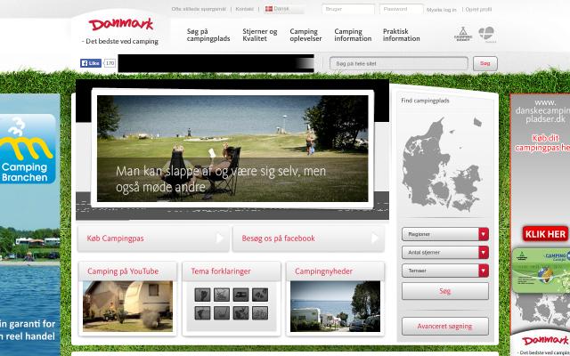 www.danskecampingpladser.dk