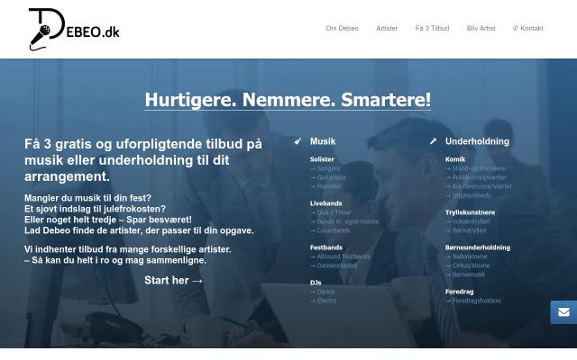www.debeo.dk