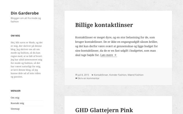 www.dingarderobe.dk