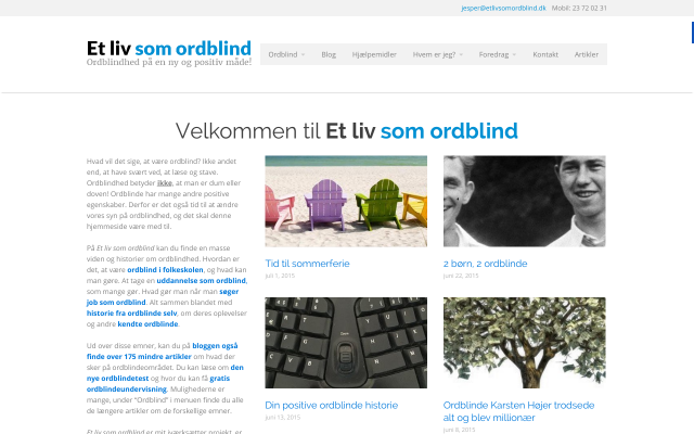 www.etlivsomordblind.dk