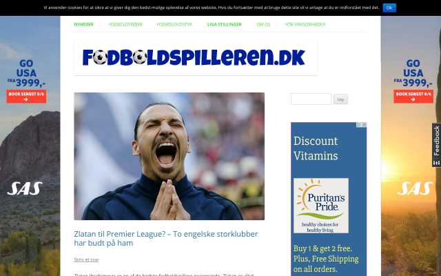 www.fodboldspilleren.dk