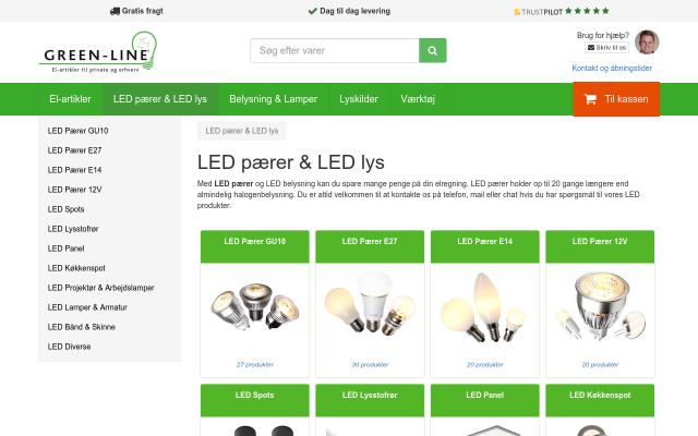 LED pærer og LED lys