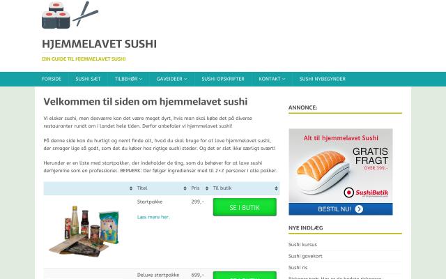 www.hjemmelavet-sushi.dk