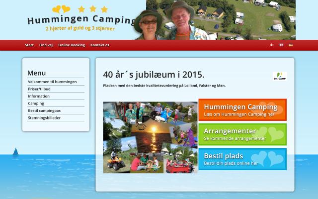 www.hummingen-camping.dk