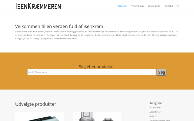 www.isenkraemmeren.dk