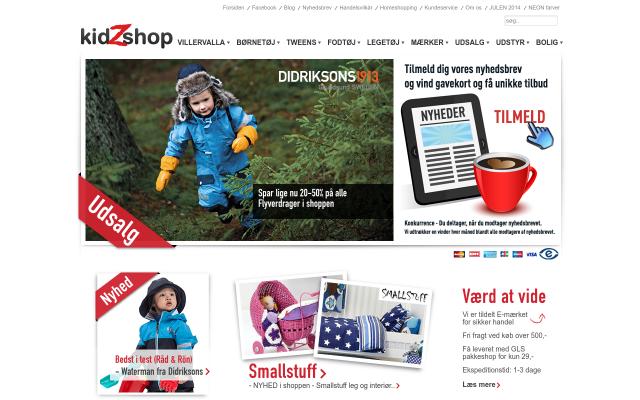 www.kidzshop.dk