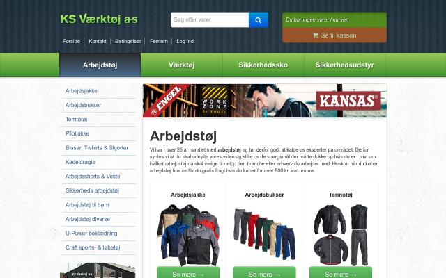 Arbejdstøj fra KSV.dk