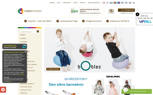 www.legebutikken.dk