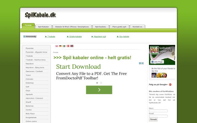 www.spilkabale.dk