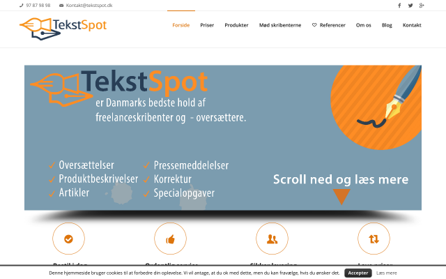 www.tekstspot.dk